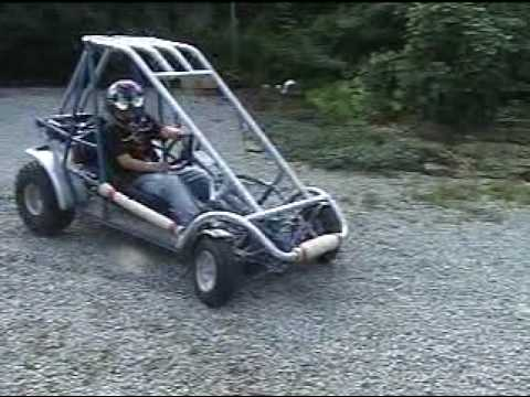 Homemade Off Road Go Kart Go kart -- home made,