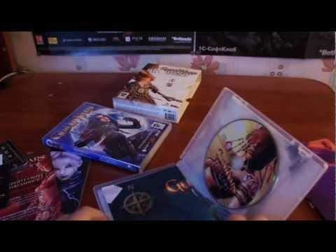 Распаковка Guild Wars: Factions Подарочное издание от издателя Новый Диск (ND games).