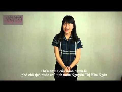 Nữ sinh Nghệ An nói 7 thứ tiếng - Tiếng Anh Giao Tiếp - Giới Thiệu Bản Thân - Trần Khánh Vy