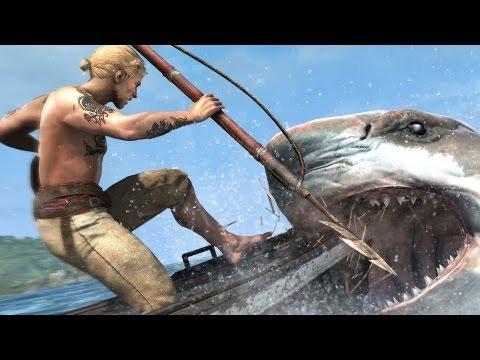 15-и минутное демо, опубликованное GameSpot, которое показывает новые элементы Assassin's Creed 4 Black Flag