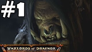 Warlords Of Draenor Walkthrough Part 1 Gameplay World Of