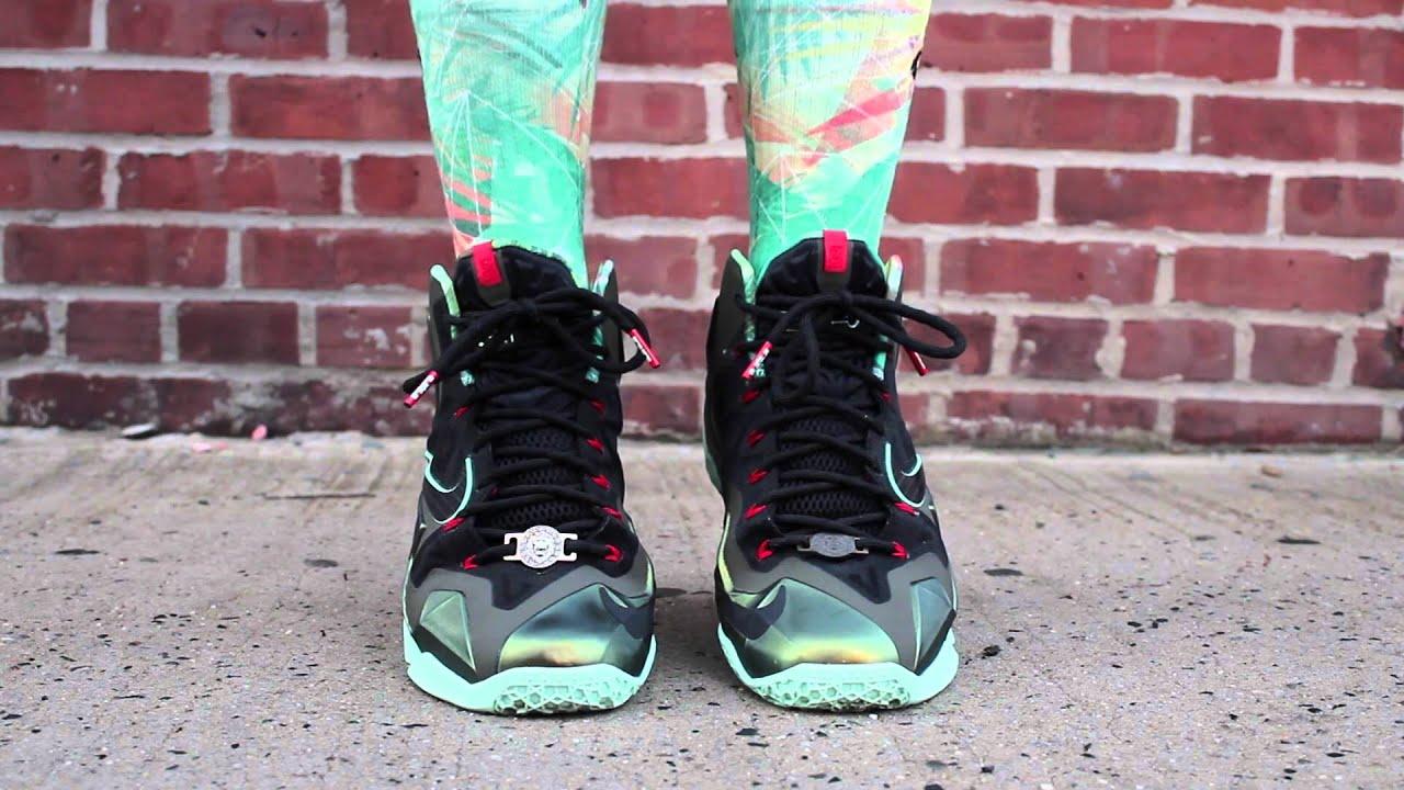 "Kickstorians.com Nike LeBron 11s ""King's Pride"" On Feet ..."