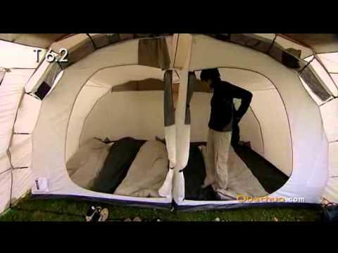 quechua t6 2 tent youtube. Black Bedroom Furniture Sets. Home Design Ideas