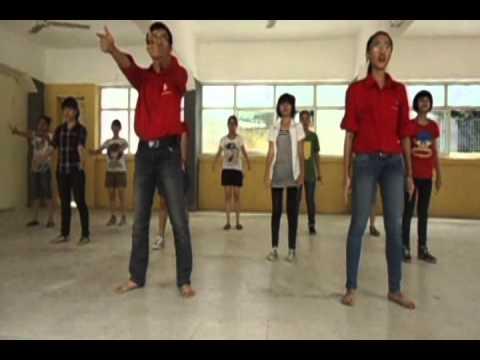 [Youth Day 2012] dạy nhảy bài