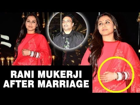 Rani Mukerji's First Public Outing Post-Wedding