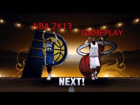 NBA 2k13 - Indiana Pacers VS Miami Heat (720p)