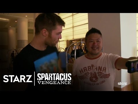 Spartacus | Vengeance - Liam McIntyre goes to Comic-Con | STARZ