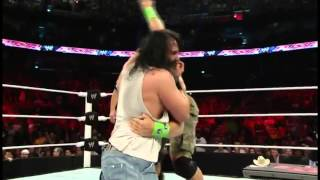 Wwe Raw After Wrestlemania 30 4.7.14 John Cena And Sheamus