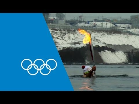 The Olympic Torch's Journey To Sochi 2014 | Faster Higher Stronger