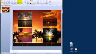 Trabajando con Fotos en PowerPoint 2010.