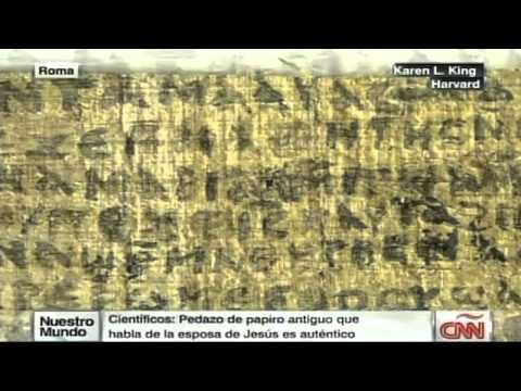 El papiro sobre la esposa de Jesús no es falso