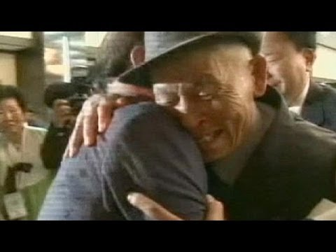 Reunion for North and South Korean families separated by war