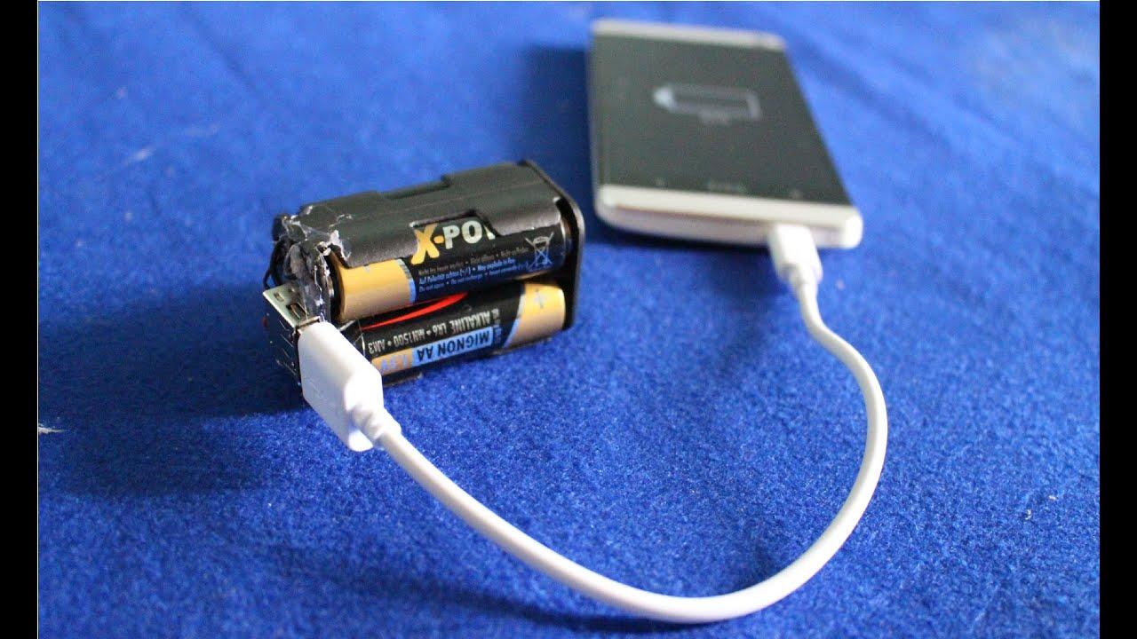 Как сделать батарейку для телефона своими руками 81