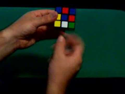 How to solve a Rubik's Cube Part 1