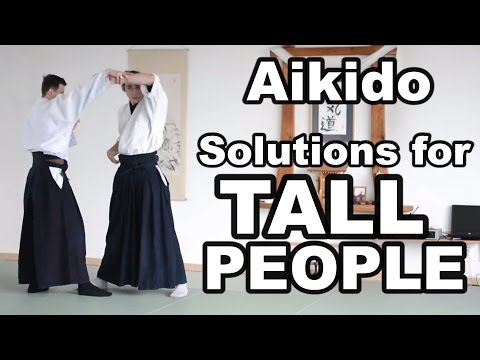 Aikido How To: Do Aikido for Tall People