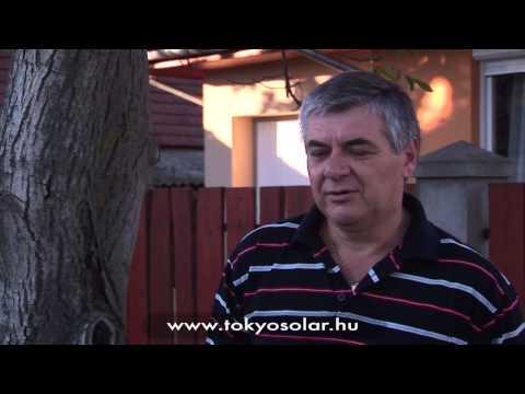 TokyoSolar napkollektor rendszer tapasztalatok, vélemény  Túri István, Hetényegyháza