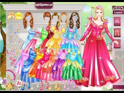 Barbie Princess Dresses Up Games