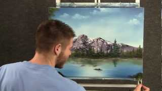 Paint With Kevin Hill Peaceful Mountain Lake