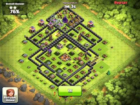 Clash of Clans my attack video  (NEW)