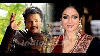 Sridevi in 'Magadheera' kind of movie in Tamil with Vijay   Chimbu Devan, Next Movie