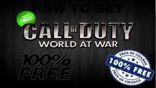 【HD】Call Of Duty World At War Free Download Tutorial