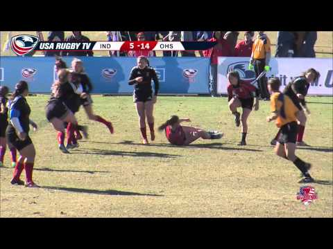 2013 USA Rugby College 7s National Championship: Indiana vs Ohio State