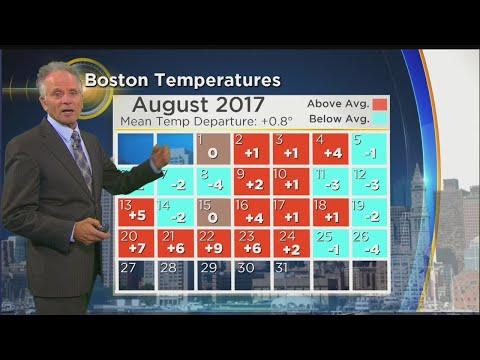 WBZ Morning Forecast For August 27