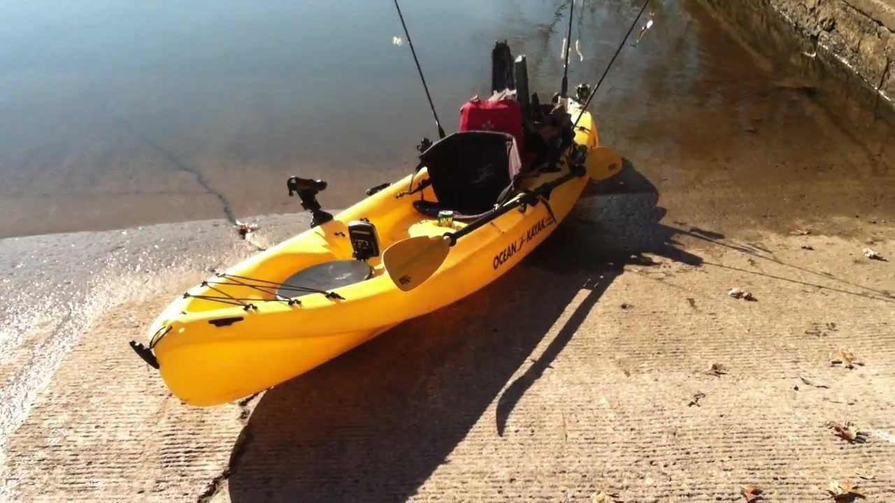 kayak fishing setup how to rig your kayak for kayak