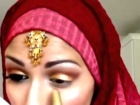 Traditional Indian Pakistani Bridal makeup tutorial