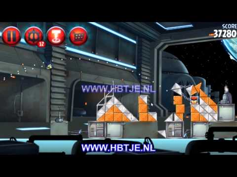 Angry Birds Star Wars 2 Naboo Invasion p1-6 3 stars