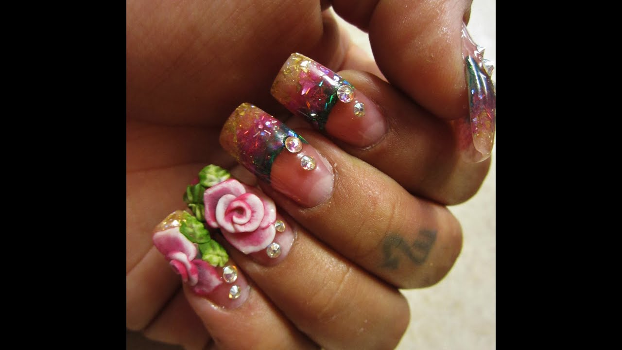 25 Mind Blowing 3D Nail Art SloDive - Nail Art Design Ideas Collection