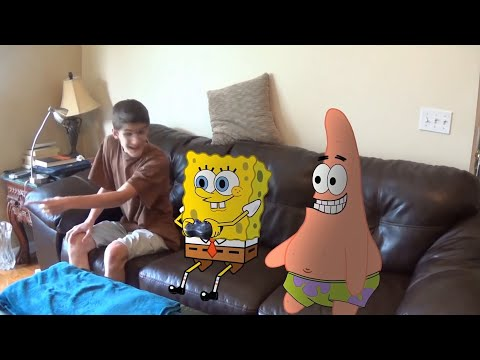 SpongeBob SquareShorts, By a strange twist of fate, SpongeBob and Patrick find themselves in the real world. Once found out by a teen named Jonathan, they do the only thing they can. They have fun.
