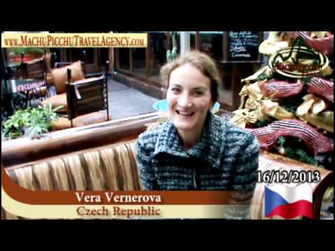 "Vera Vernerova - Czech Republic tourist with Travel and Tourism agency ""Machu Picchu Travel"""