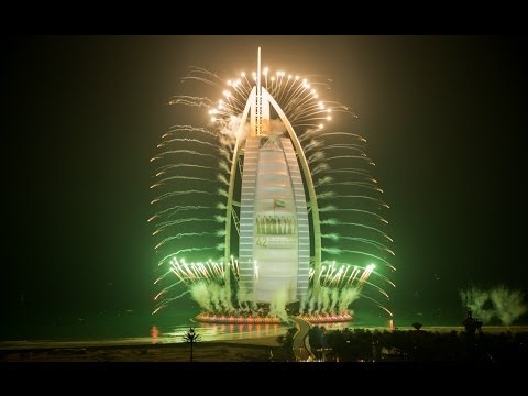 Dubai Achieves Guinness World Record Firework Show 2014