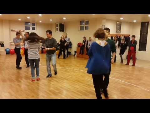 Büyük Salsa Grubu 02/03/2014 bachata dersi