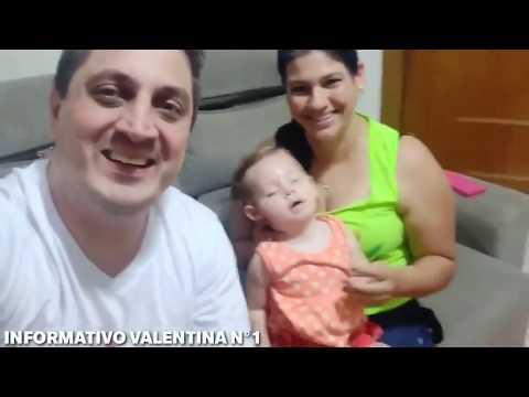 Pequena Valentina iniciará tratamento nos EUA