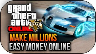 GTA 5 Next Gen Online How To Make Money FAST Insane Easy