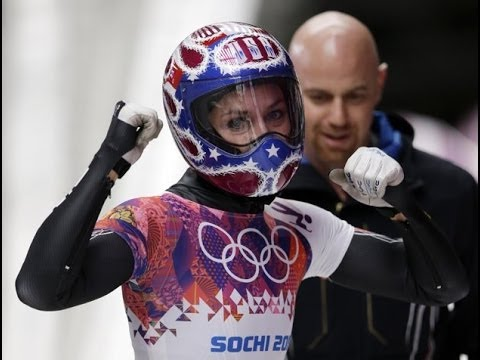 US WINS Silver in Women's Skeleton