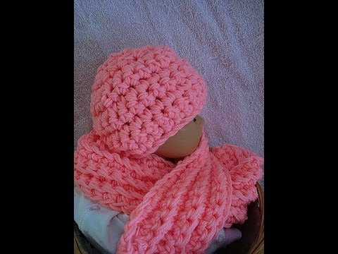 Youtube Crocheting Scarves : How to crochet a hat and scarf set from Sweet Potato Patterns, youtube ...
