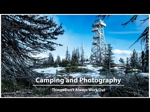Camping and Photography | It Doesn't Always Work Out | Black Butte Oregon