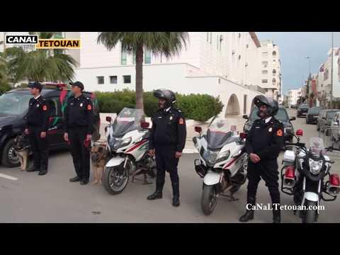 هكذا جندت ولاية أمن تطوان رجالاتها لاحتفالات رأس السنة بمدينة تطوان ونواحيها (شاهد الروبورتاج)