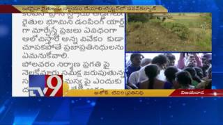 Pawan Kalyan tweets on Moolalanka farmers issues,questions..