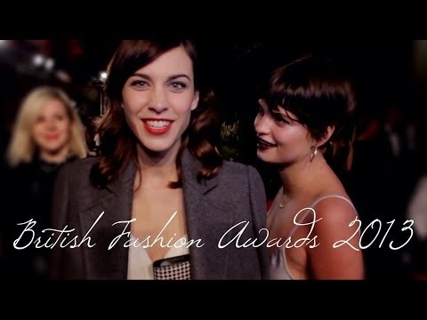 Alexa Chung: I'm Past It, Harry Styles Will Be Chewing Gum | British Fashion Awards