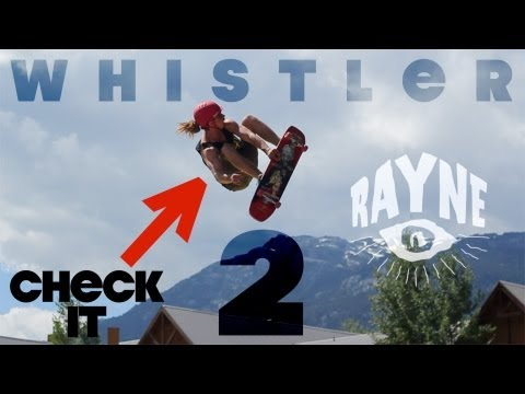Whistler Longboard Festival 2013: Big Air, Freestyle Demo and Bowl Jam