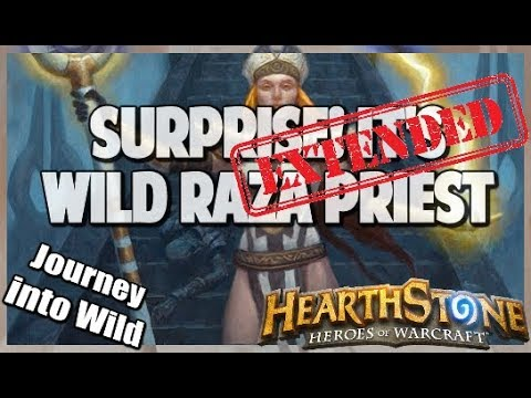 Surprise! it's Wild Raza Priest | Extended Gameplay | Hearthstone | Kobolds and Catacombs