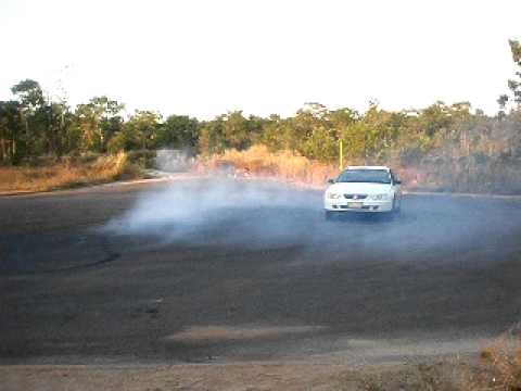vy v6 small burnout