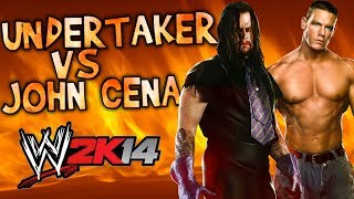 WWE 2K14: The Undertaker Vs John Cena