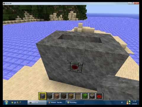 Come Costruire una fontana automatica su Minecraft - YouTube