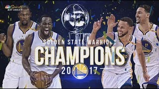 Story of Golden State Warriors' 2016-17 Championship Season
