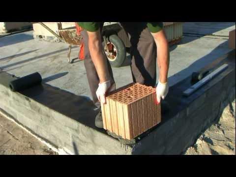 Jak wymurować ściany? - budowa domu